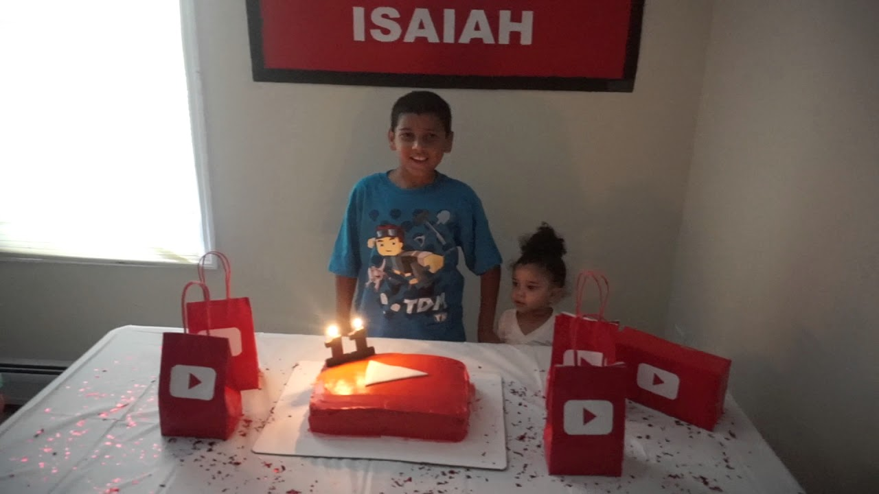 My Youtube Themed Birthday Party Youtube