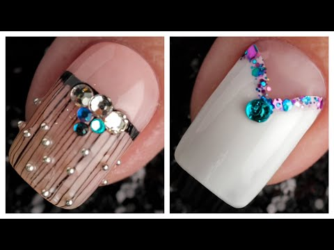 Simple Nail Art Design 2019 ❤️💅 Compilation | Ten New Simple Nails Art Ideas Compilation #101 thumbnail