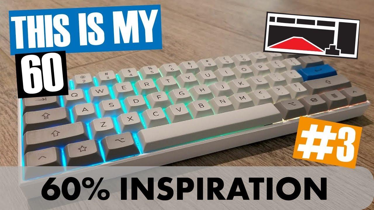 [#3] This is My 60 - M65A, HHKB, DZ60, Duck Viper - Custom Mechanical  Keyboards