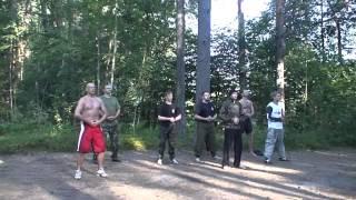 Обучение рукопашному бою