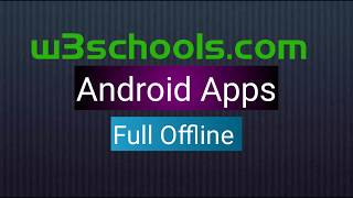 Download w3schools offline version for free [latest full