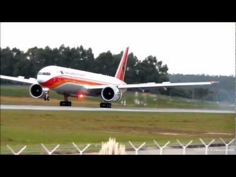 TAAG B777-3M2ER D2-TEG landing RWY17 Porto OPO/LPPR | PORTUGAL