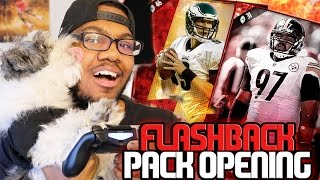 LUCKY PUPPY ELITE PULLS! 2x Flashback Bundles!! Madden 17 Ultimate Team Pack Opening
