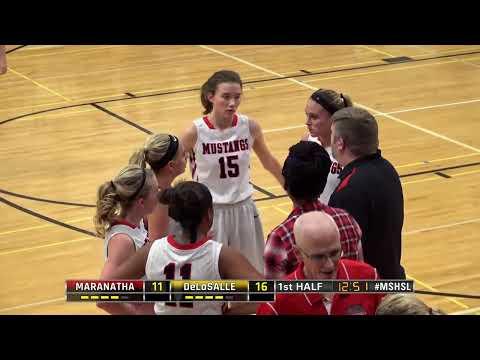 High School Girls Basketball: Maranatha Christian Academy vs DeLaSalle