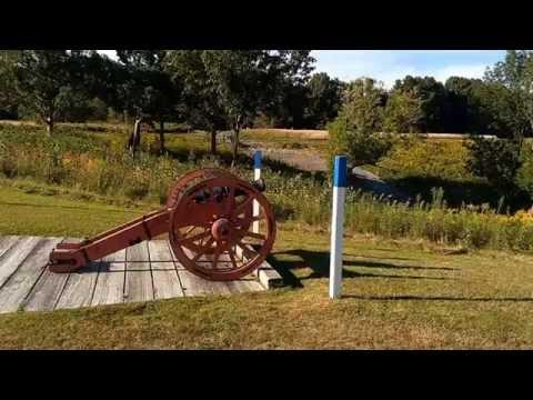 The Saratoga National Historical Park, NY, United States.