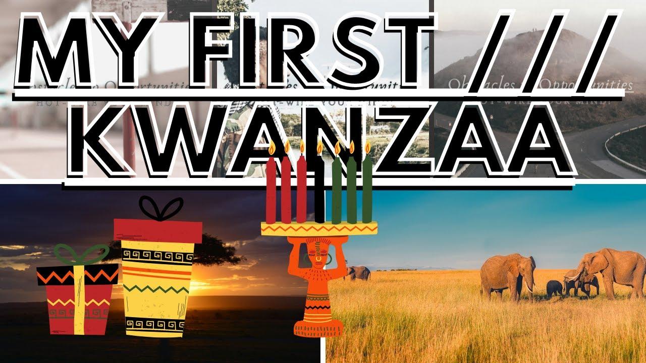 My First /// Kwanzaa