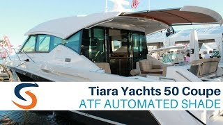 Tiara Yachts 50 Coupe with SureShade Automated Shade