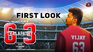 OFFICIAL : Thalapathy 63 First Look Update | Vijay | Atlee | AR Rahman | #Nettv4u