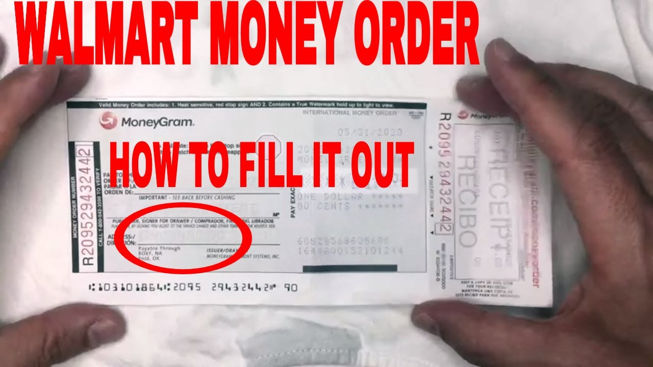 ✅ How To Fill Out A Walmart Money Order 🔴