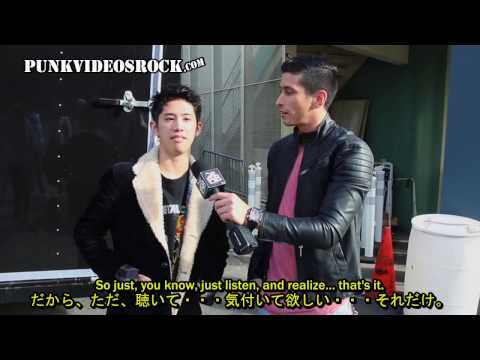 ONE OK ROCK Interview by PUNKVIDEOSROCK  Jan 24, 2017 [Translated in Japanese/English] 日本語/英語字幕