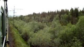 смотреть видео на ютубе вид из окна поезда петербург мурманск