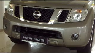 Nissan Pathfinder 2.5 dCi 5 A/T Trend Exterior and Interior in Full 3D HD