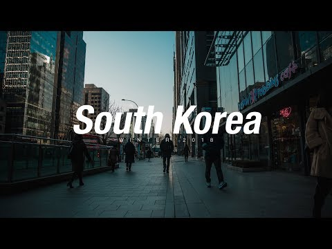 Winter Trip to South Korea - Travel Video (2018)