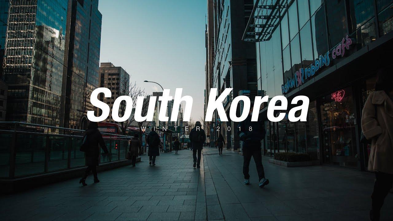 winter trip to south korea travel video 2018 youtube. Black Bedroom Furniture Sets. Home Design Ideas
