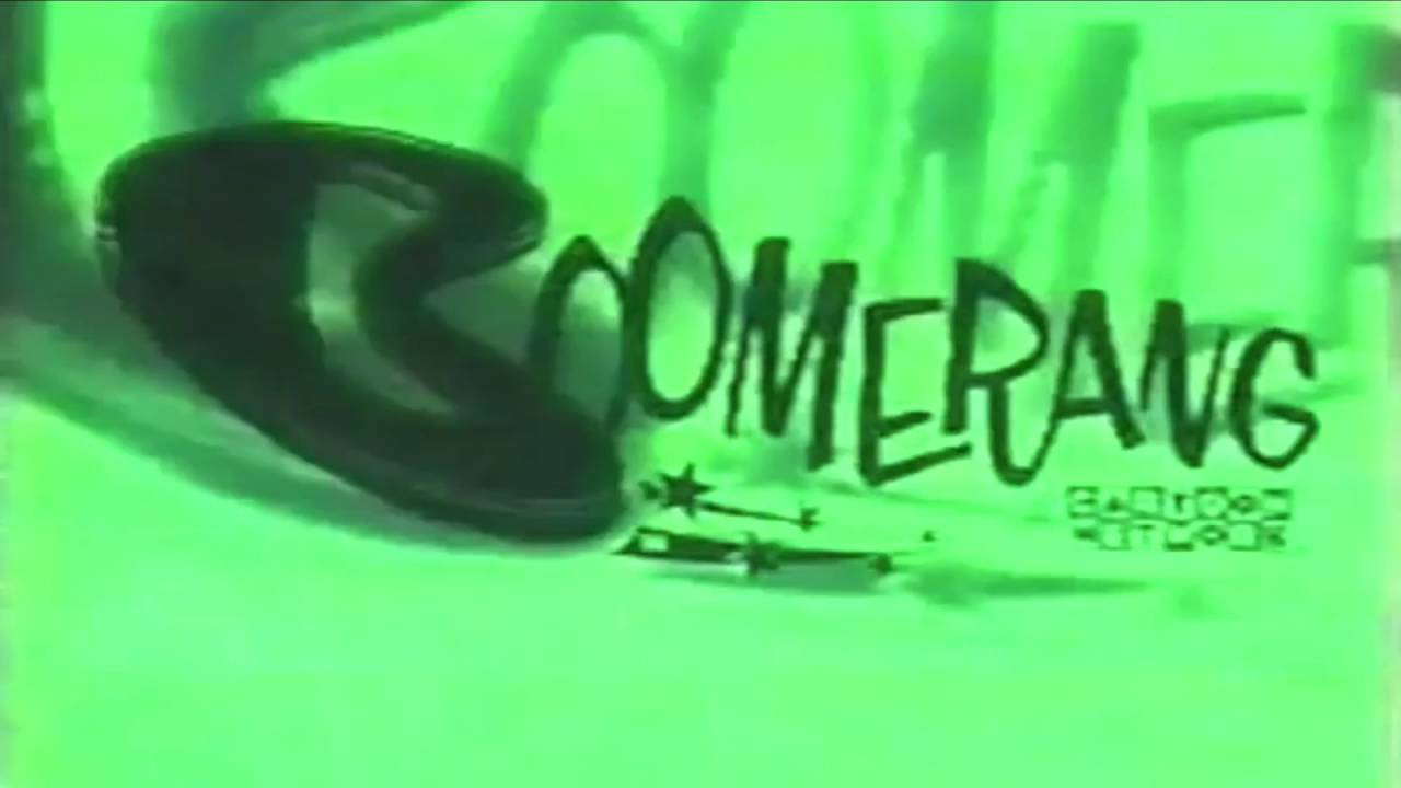 Boomerang Boomeraction Jonny Quest Youtube