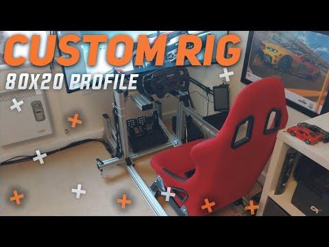CUSTOM DESIGNED SIM RIG - 80x20 Profile