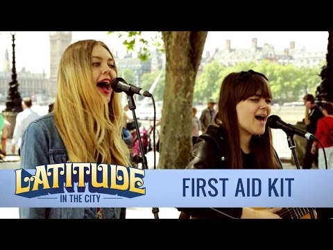 First Aid Kit 'My Silver Lining' (acoustic) | London Southbank | Latitude in the City