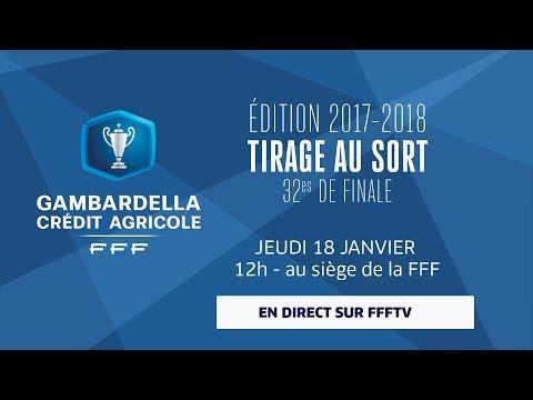 Jeudi coupe gambardella ca tirage au sort des 32es de - Coupe de france tirage au sort en direct ...