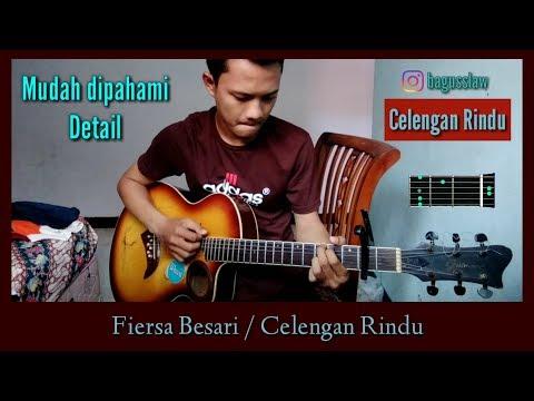 Fiersa Besari - Celengan Rindu / Kunci gitar ( Chord gitar mudah )