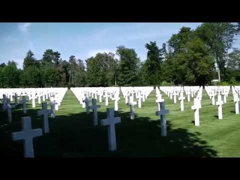 Oise Aisne American Cemetery, Seringes et Nesles, France