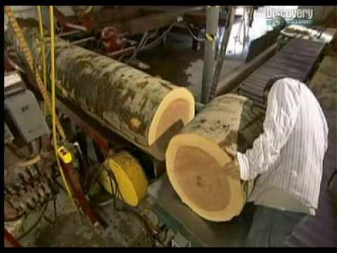 Cuencos madera youtube for Fabricacion de bares de madera