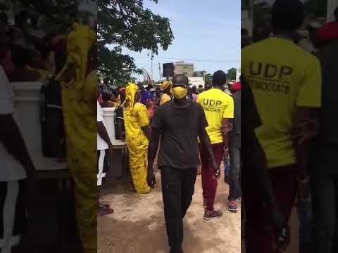 Lawyer Ousainou Darboe Arrived in manjai Breau 4/10/2020