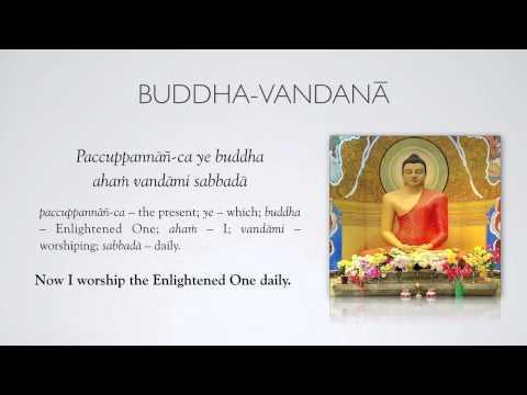 Paritta 2: Buddha vandana 2