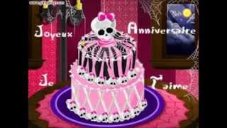 joyeux anniversaire( Monster High)
