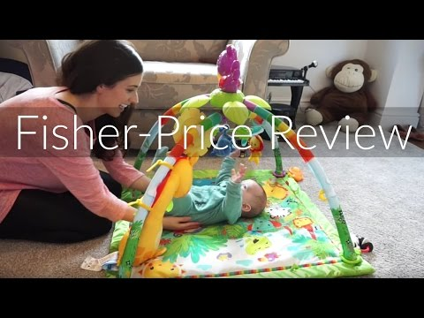 FISHER-PRICE RAINFOREST MUSIC AND LIGHTS DELUX GYM REVIEW | AD