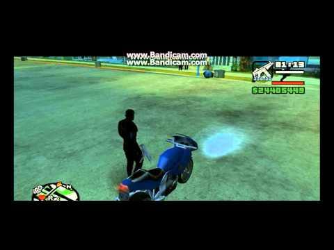 GTA San Andreas | Como Hacer Tu Moto Igual Ala Del Vengador Fantasma XD