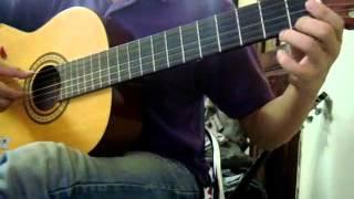 (Trịnh Công Sơn) Hoa vàng mấy độ - Guitar solo
