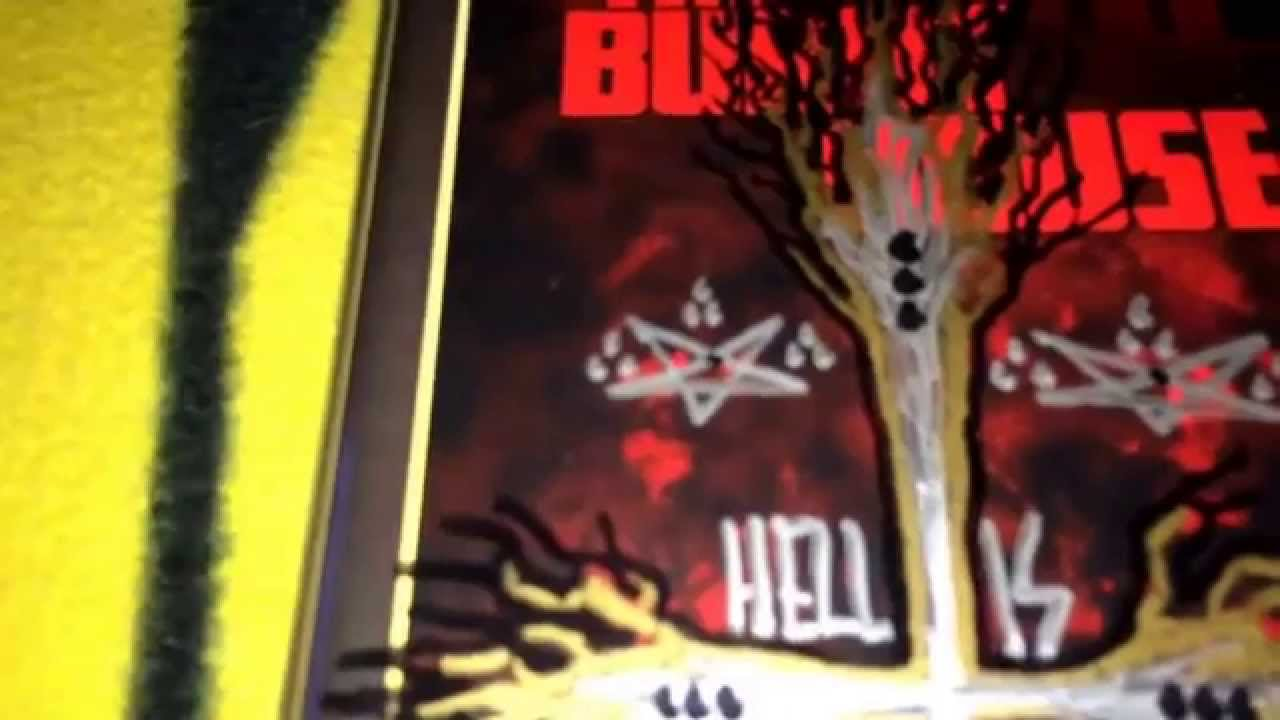 Unboxing Adam Ahlbrandt's VHS The Burnt House, and Blu-Ray The Cemetery  Massacre Video