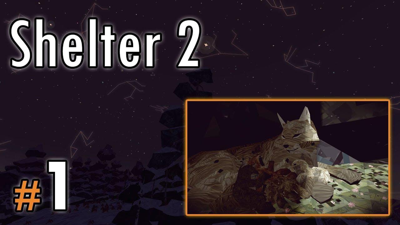 """Let's Play: Shelter II odc. 1 – """"Rysiowa mama w ciąży"""""""