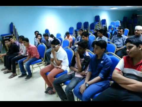 SKSSF SKIC RIYADH Dr. Yahya Khan meet with Students Part1