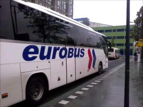 bus Trein Tram en Metro op Rotterdam Centraal 22-10-2015