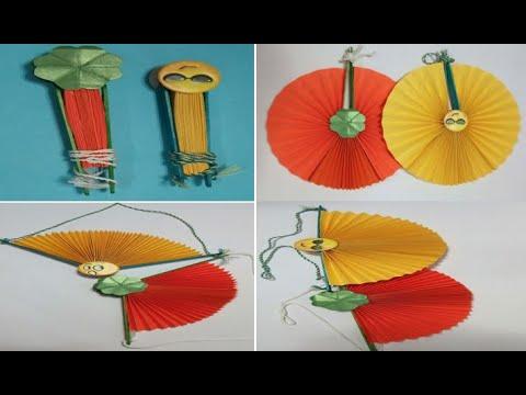 D I Y Paper hand Fan