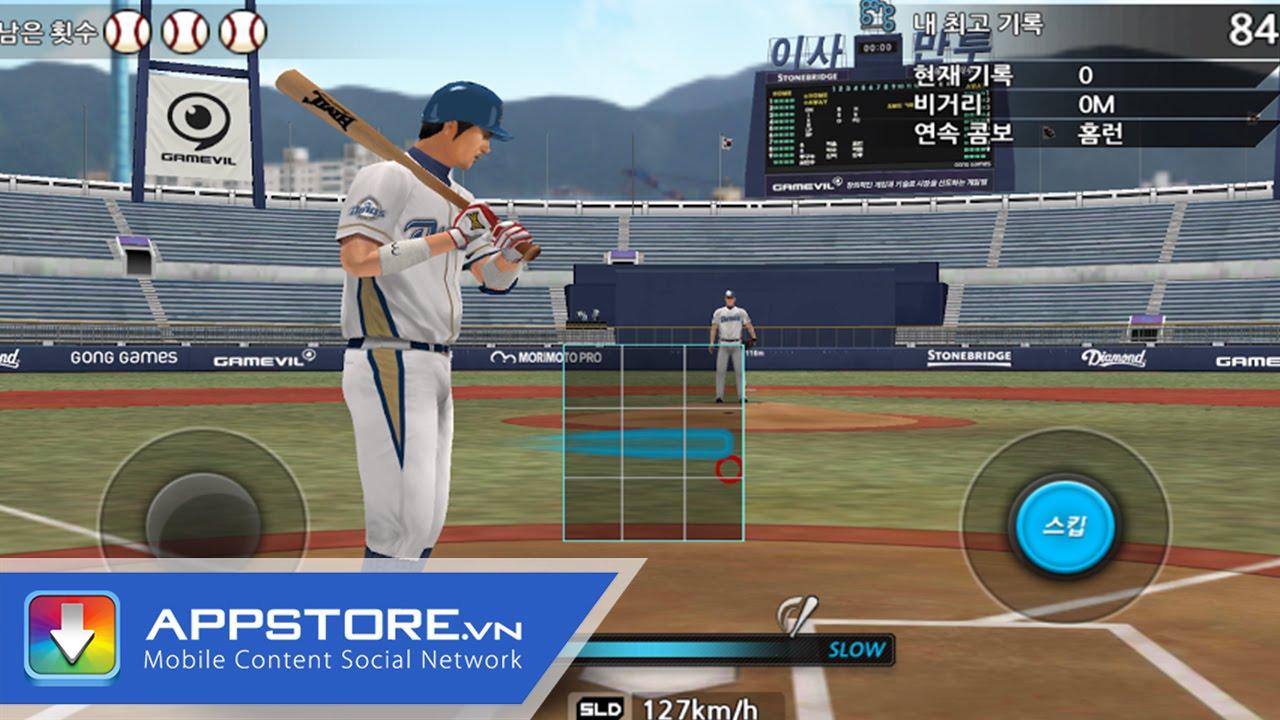 [Game] Baseball 2015 – Bóng chày chuyên nghiệp – AppStore.Vn