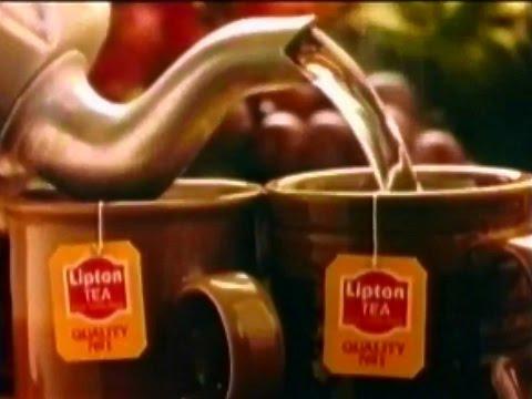 Lipton Tea 1987 TV Commercial HD