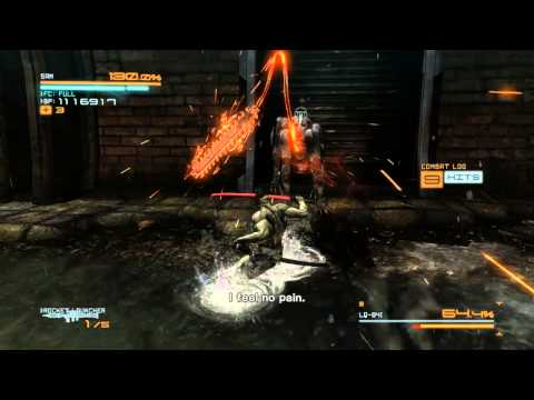 Metal Gear Rising: Revengeance (Sam DLC) - Blade Wolf, Boss fight (No damage, S-Rank, Very Hard).