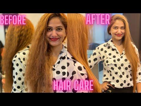 Priya's Hair Care   keratin Treatment   Bonus Mummy Makeover  Live In Style parlour