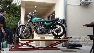 Repeat youtube video Motorcycle Lift Table KawasakiTripHD