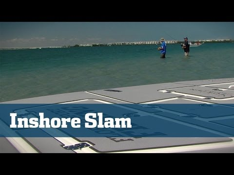 Inshore Slam At The Indian River With Trout, Redfish, Snook And More - Florida Sport Fishing TV
