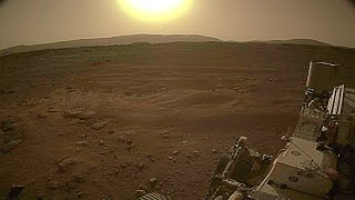Sun from Mars by NASA's Perseverance Rover on February 28, 2021