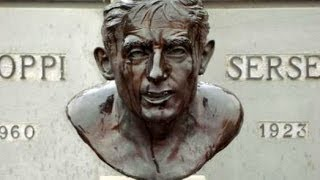 Fausto Coppi Grave Memorial, Castellania, Alessandria, Italy, Europe