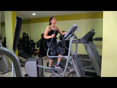 Workout for healthy Heart - Cardio Exercises Cross Trainer | Women's Fitness , Hindi