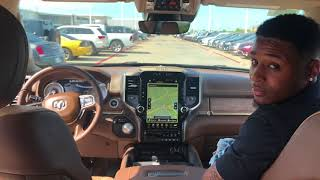 Quick look at the 2019 Dodge Ram Laraime Longhorn