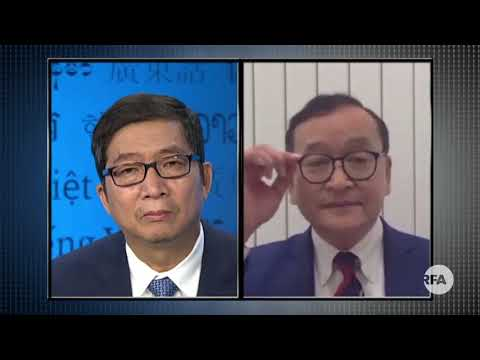 Interview With Mr. Sam Rainsy Over PM Hun Sen's Reaction
