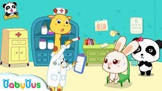 Tavşan Momo Burnu canavarlar | Çocuk Rolü | Resim Kitap Karikatür | BabyBus Oynuyor