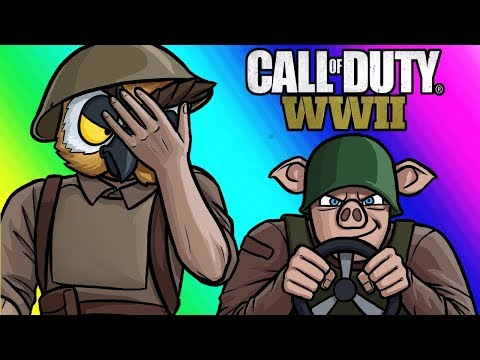 Thumbnail: Call of Duty WW2 Funny Moments - Captain Jack's Idiot Platoon