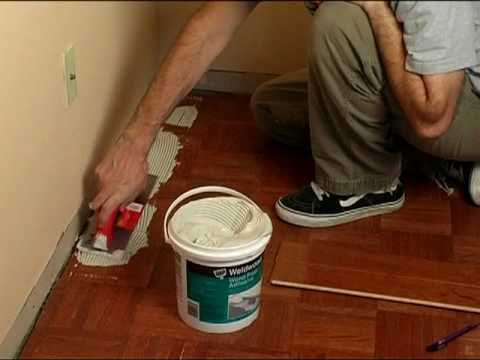 How To Install Engineered Hardwood Flooring   YouTube